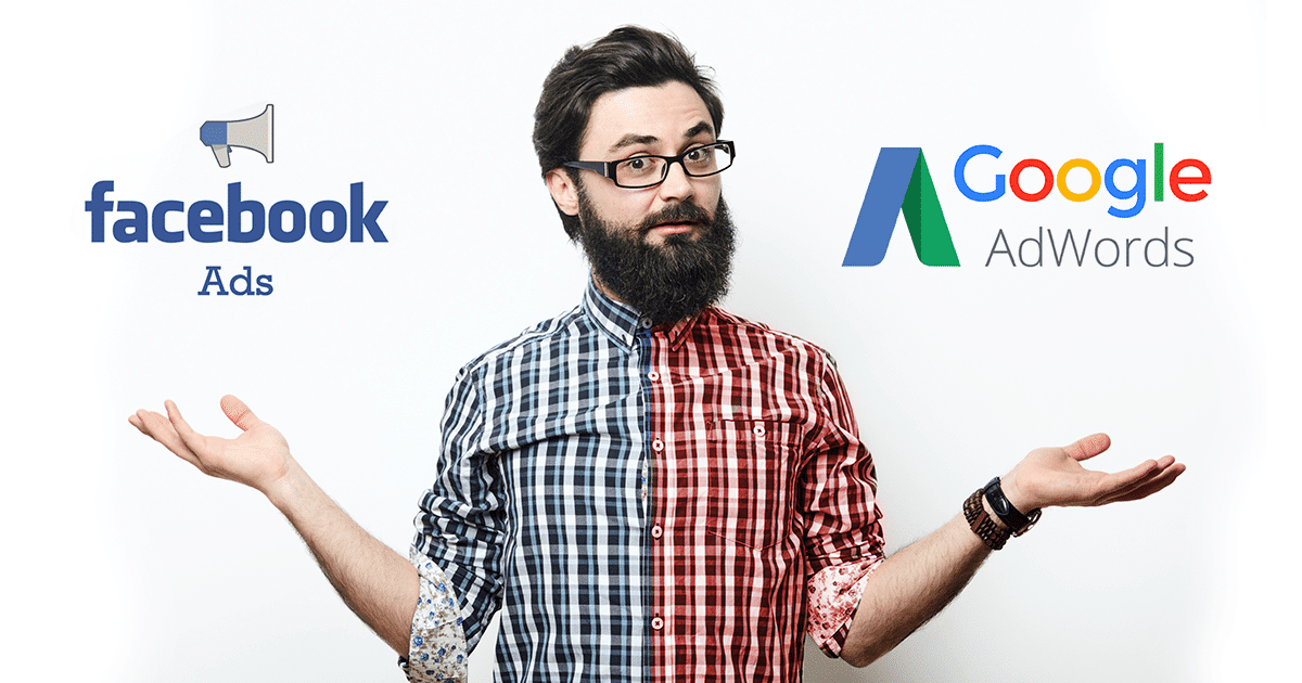 anunciar no facebook ads ou google adwords