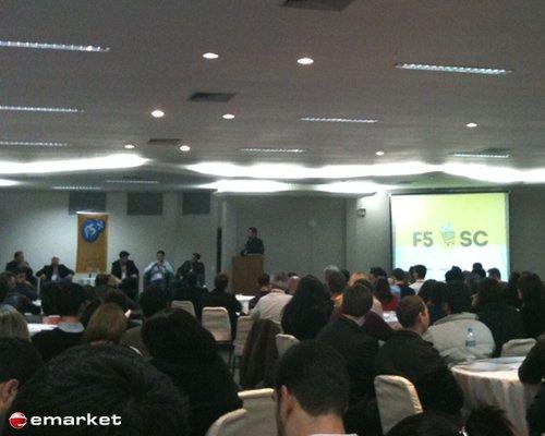 Agência emarket no F5 SC E-commerce 2013