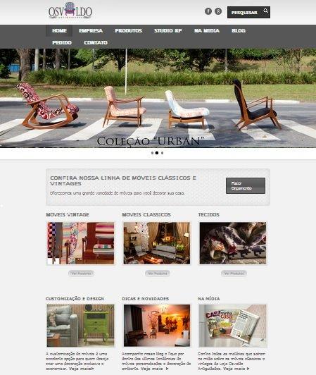 Loja de móveis Osvaldo Antiguidades de Sao Paulo